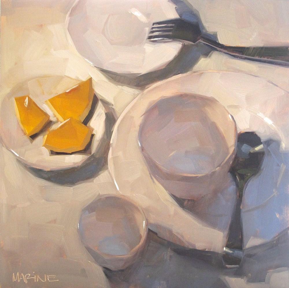 """What's Left"" original fine art by Carol Marine"