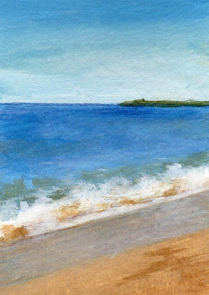 """Receding Tide"" original fine art by Debbie Shirley"