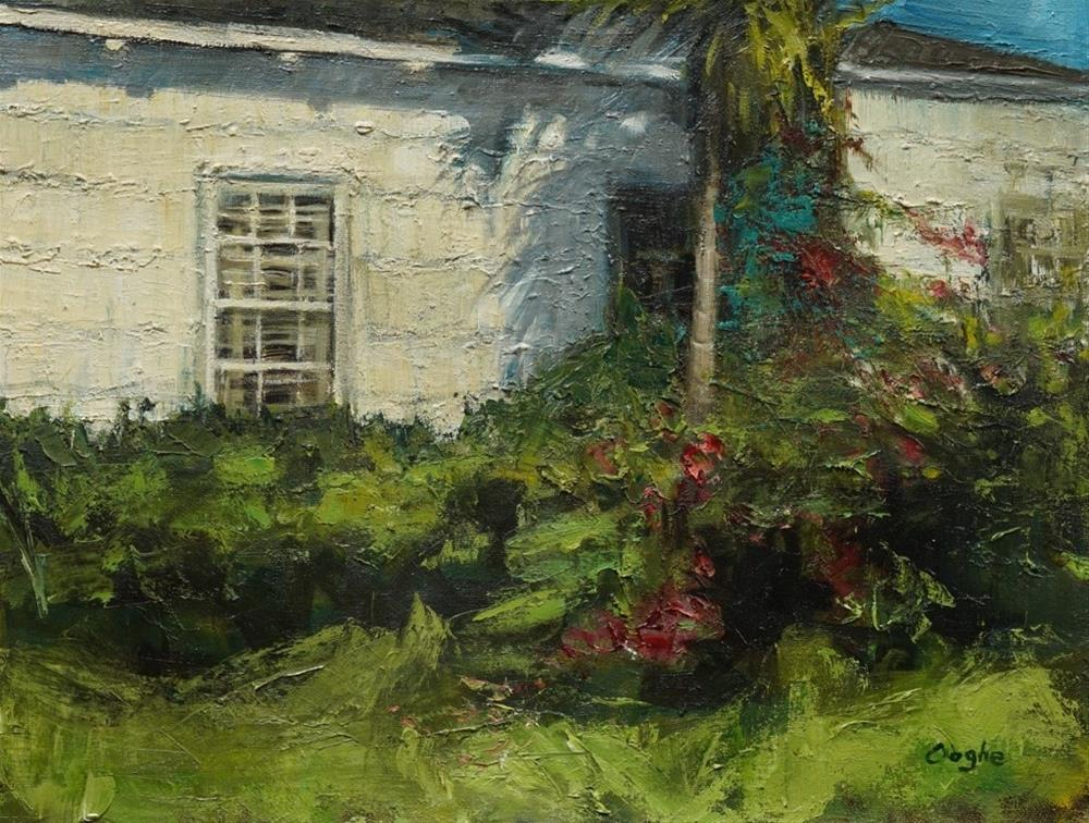 """Overgrown"" original fine art by Angela Ooghe"
