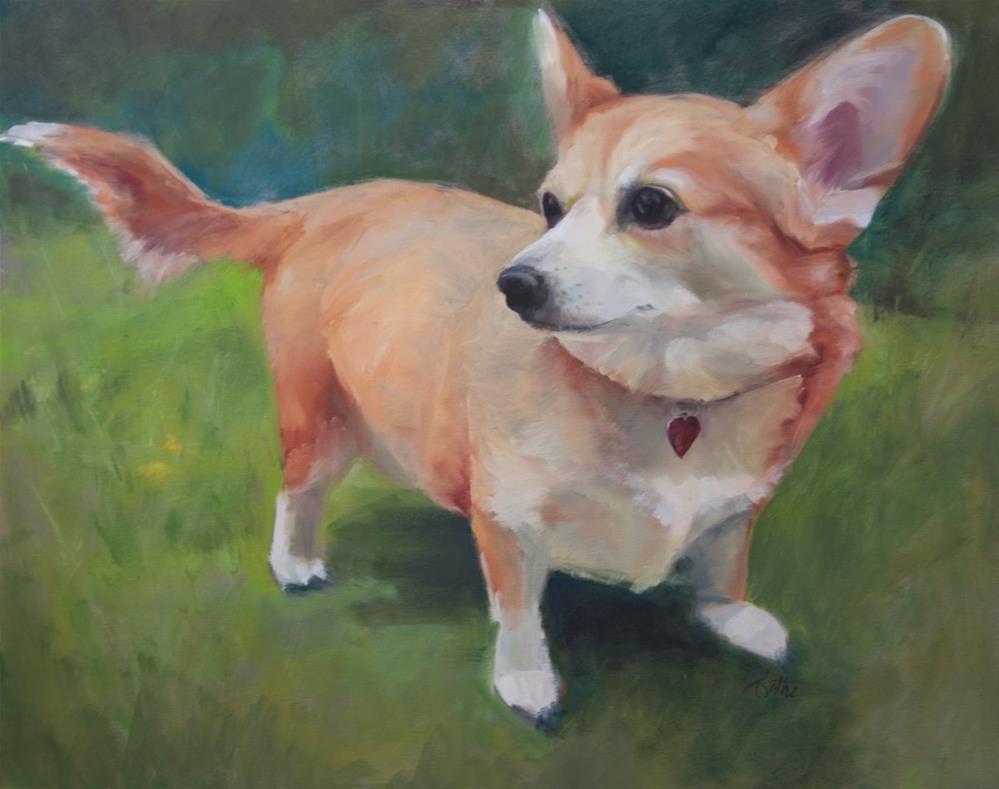 """Cleo"" original fine art by Beth Bathe"