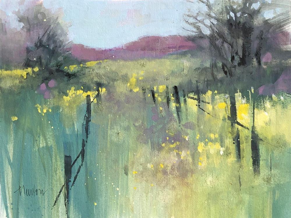 """""""Passage"""" original fine art by Barbara Benedetti Newton"""