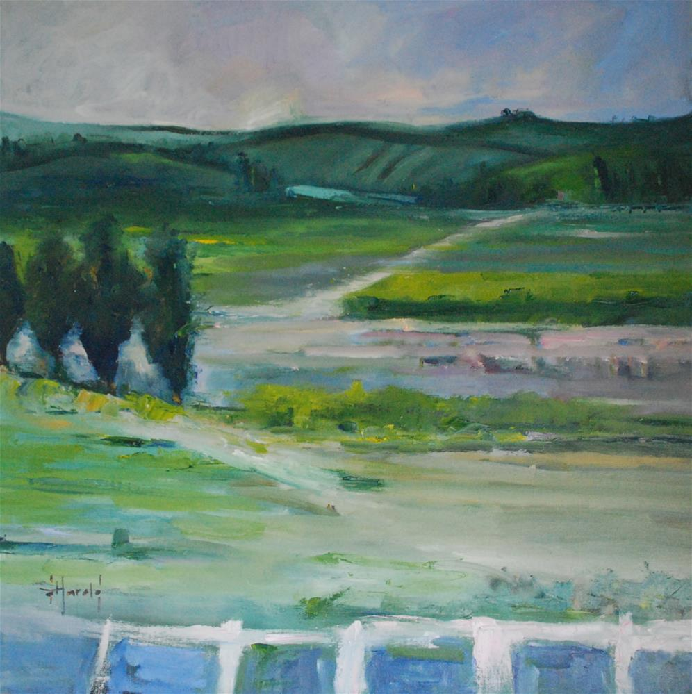 """Hushed 7"" original fine art by Deborah Harold"