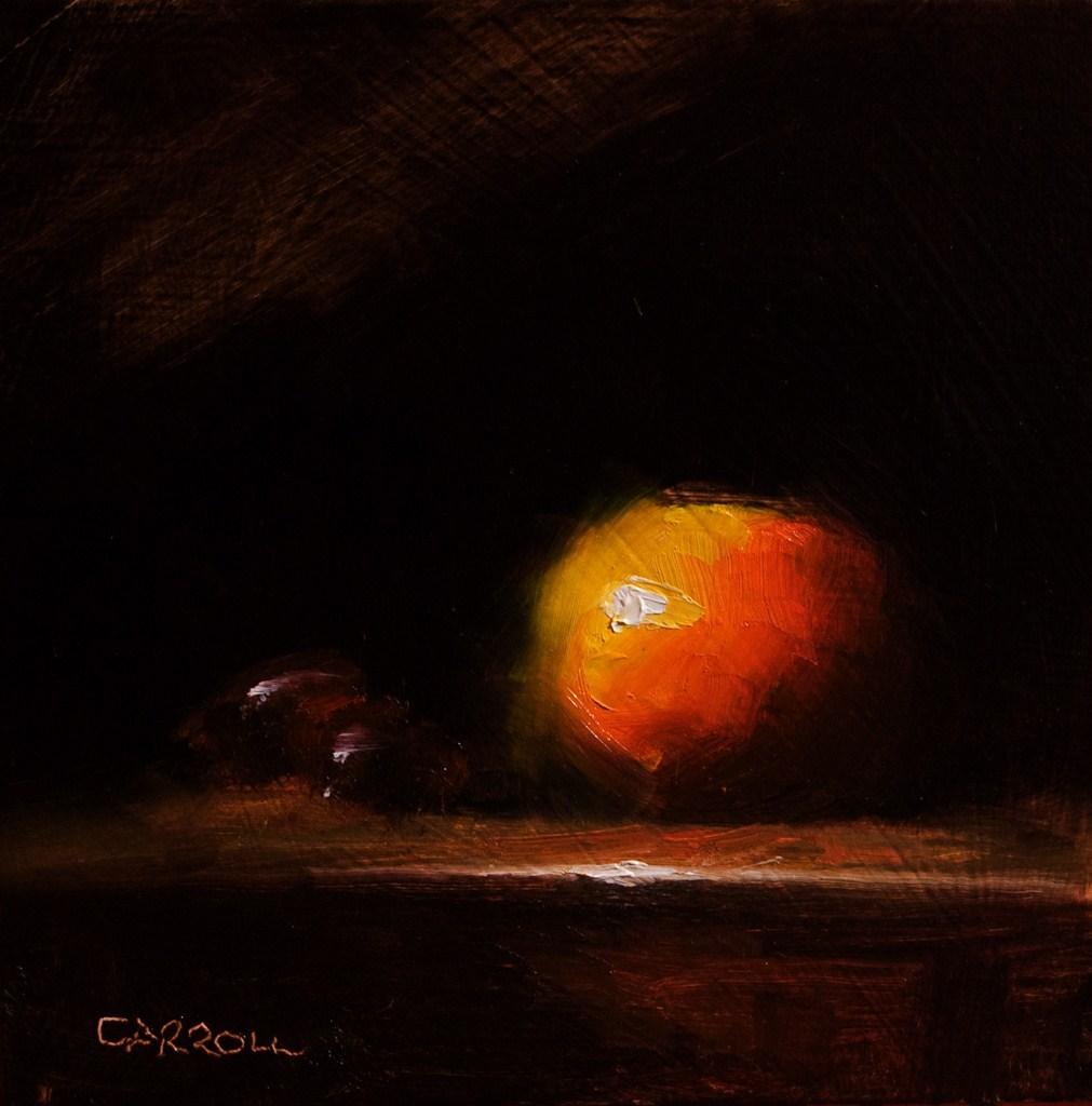 """Clementine No. 3"" original fine art by Neil Carroll"