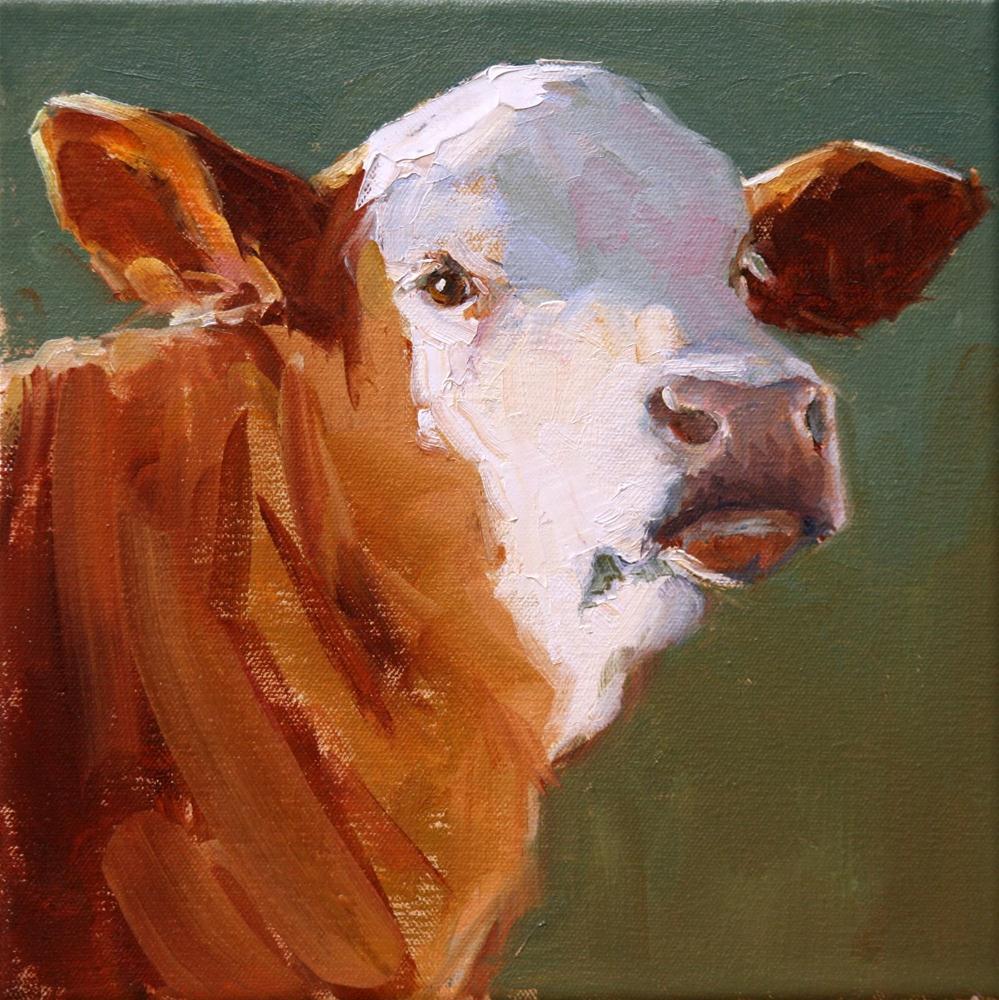 """looking over"" original fine art by Carol Carmichael"