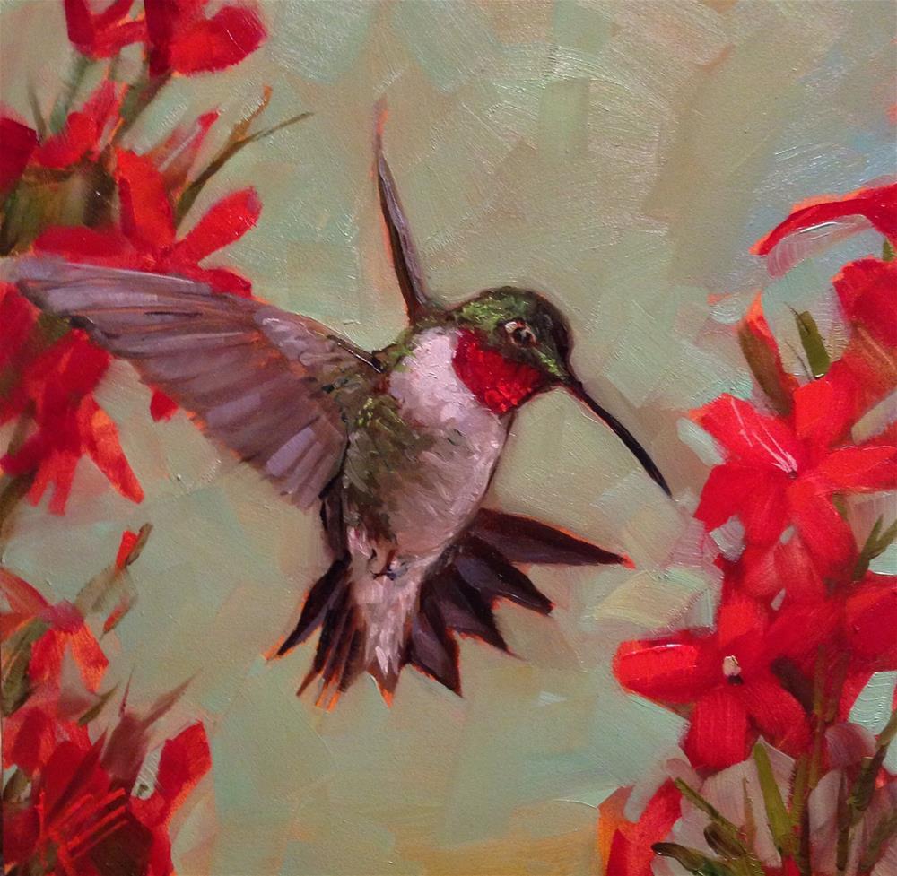 """""""Effortless"""" original fine art by Krista Eaton"""