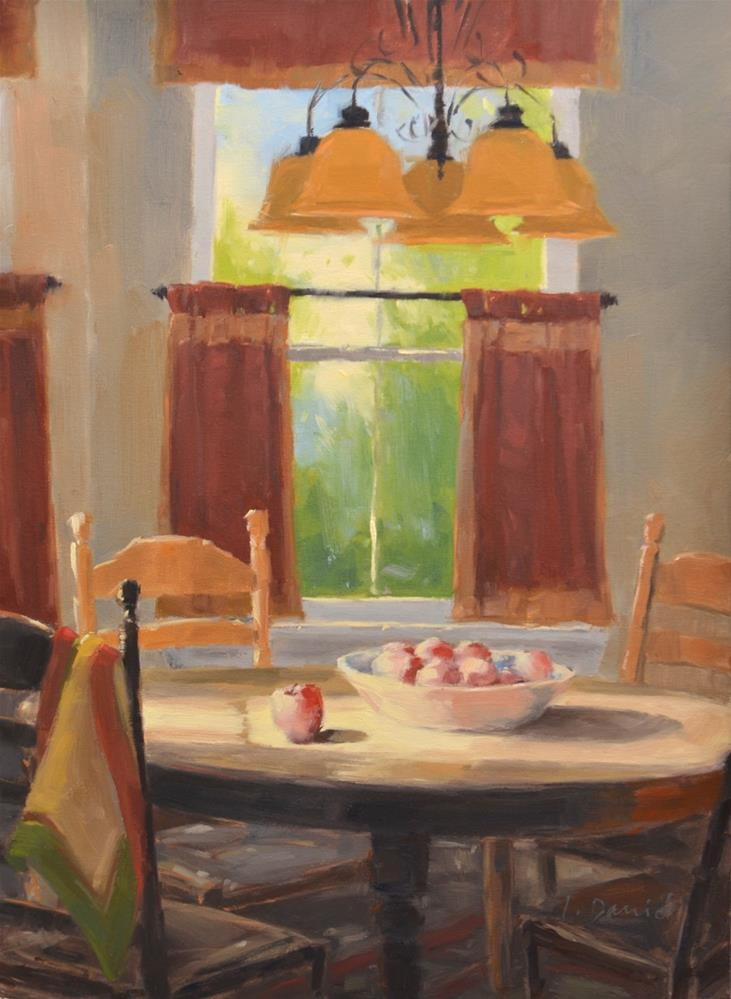 """""""Kitchen Warmth"""" original fine art by Laurel Daniel"""
