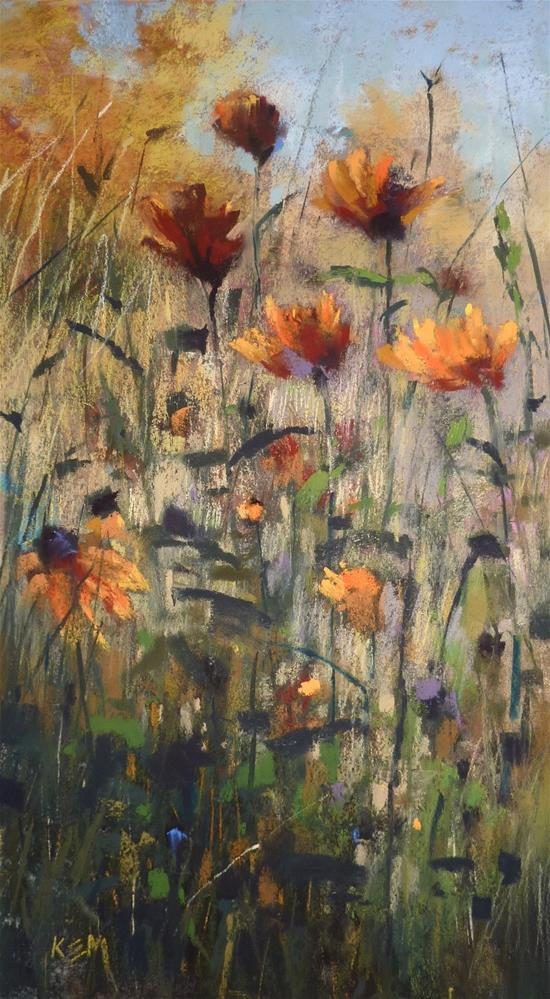 """""""Have You Tried a Tempera Paint Underpainting?"""" original fine art by Karen Margulis"""