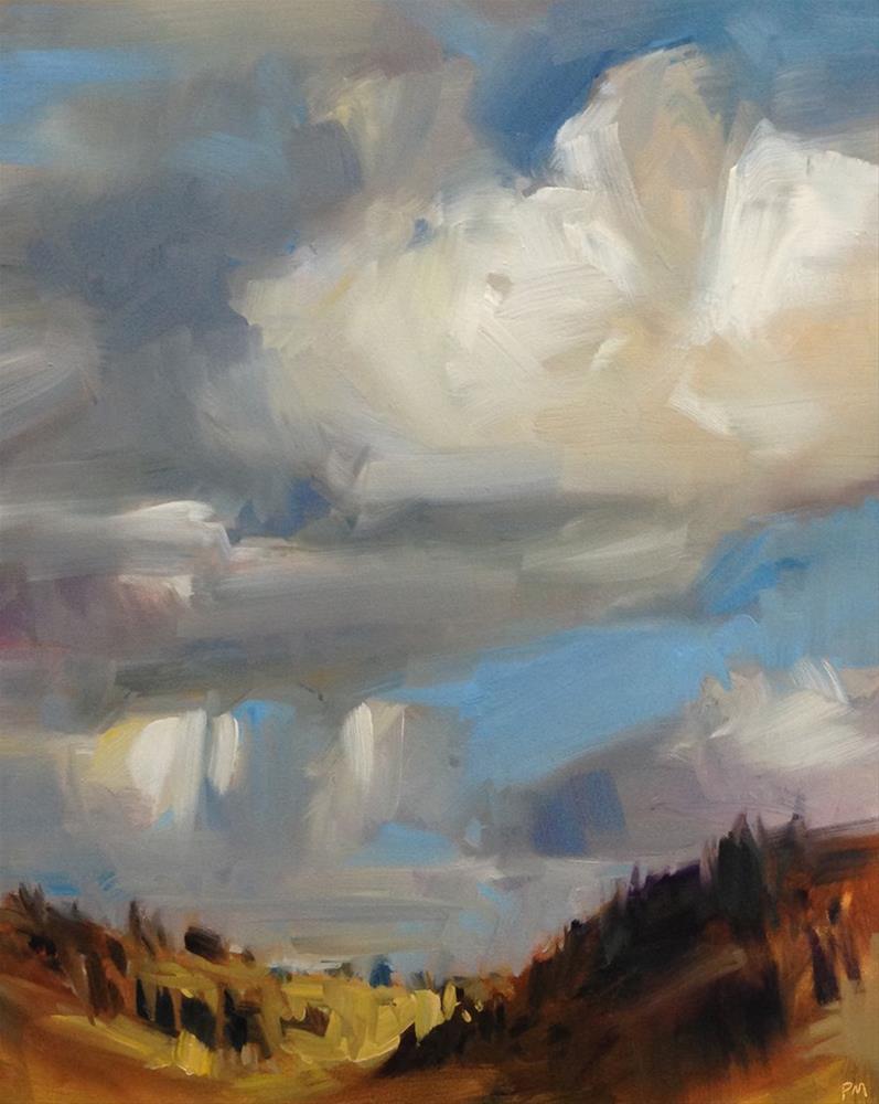 """Big Sky"" original fine art by Patti McNutt"