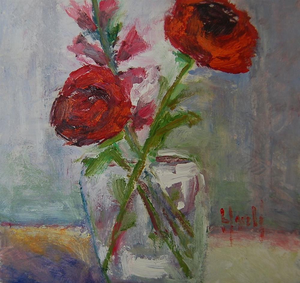 """Spring"" original fine art by Deborah Harold"