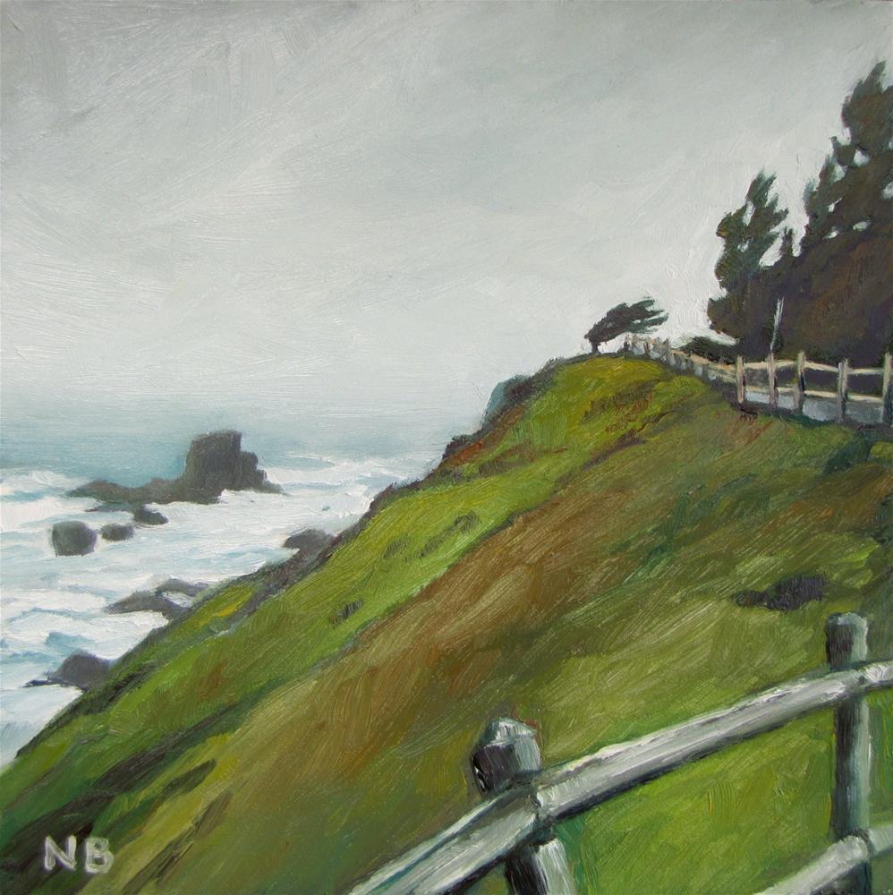 """Oregon Winter"" original fine art by Nora Bergman"