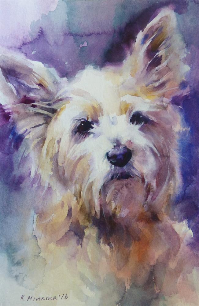 """adopt181 - Kayleigh"" original fine art by Katya Minkina"