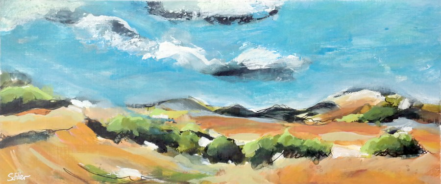 """2927 Great Landscape"" original fine art by Dietmar Stiller"