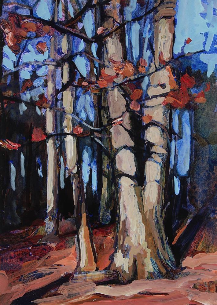 """Walton Woods"" original fine art by Chris Breier"