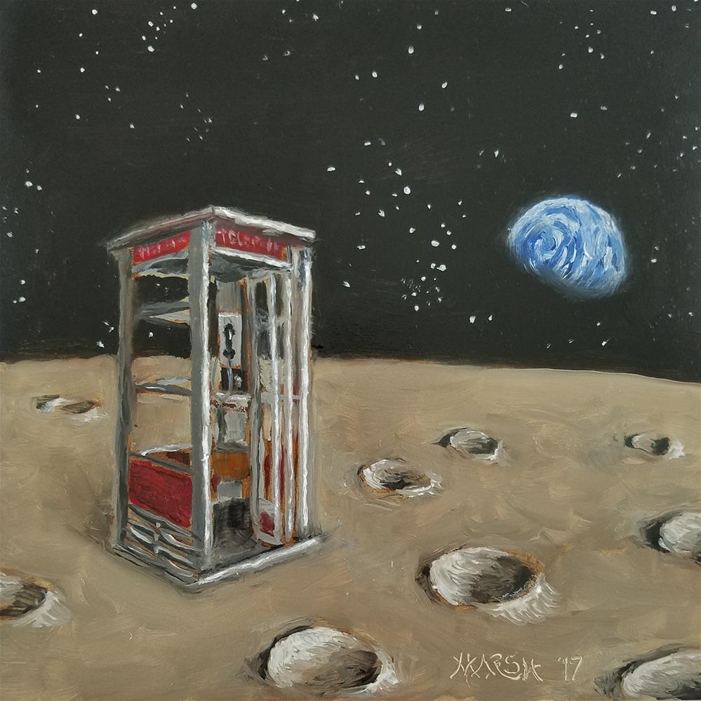 """Just in Case"" original fine art by Jason Marsh"