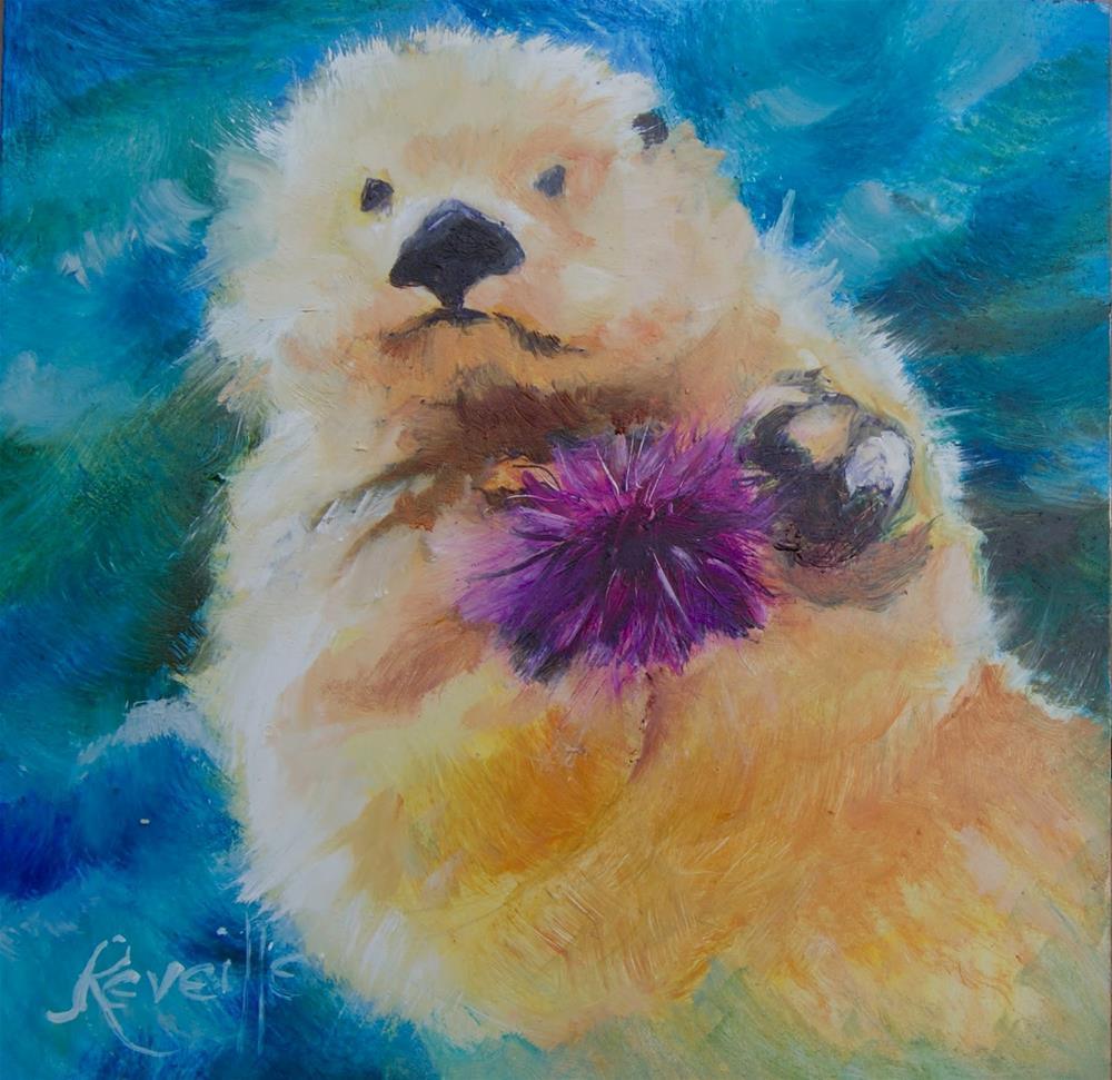 """""""Sunshine"""" original fine art by Reveille Kennedy"""