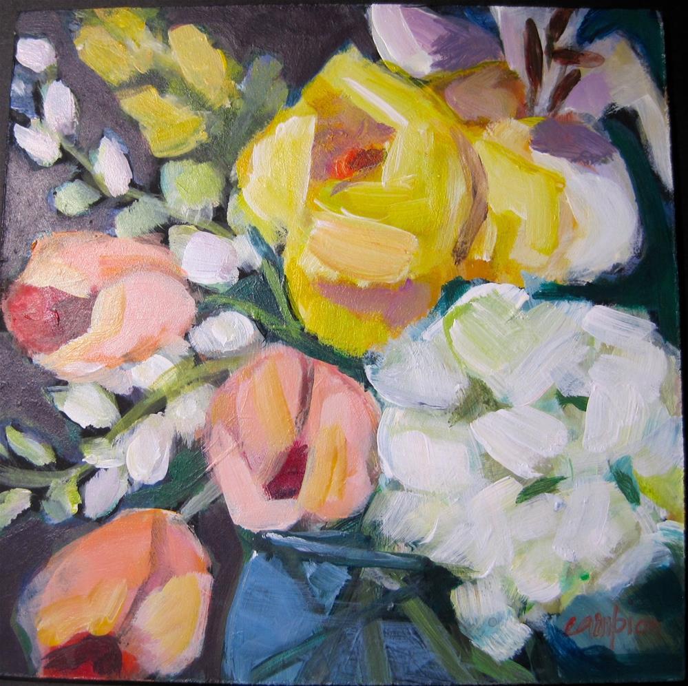 """""""296.  Anniversary"""" original fine art by Diane Campion"""