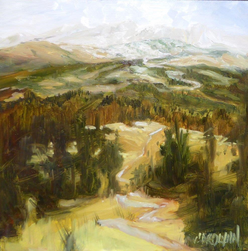 """Trail To Heaven"" original fine art by Carolynn Doan"
