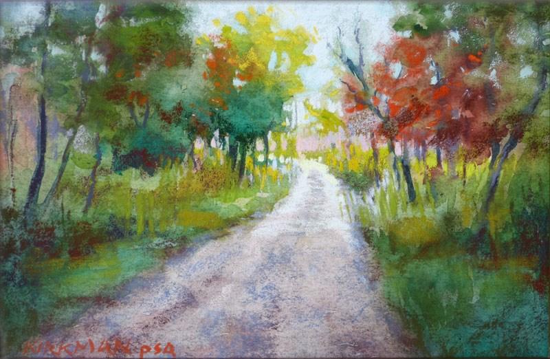 """""""Park Trail #37"""" original fine art by Rita Kirkman"""
