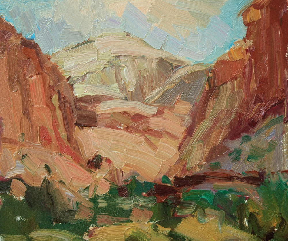 """""""Capitol Reef Dome"""" original fine art by Kathryn Townsend"""