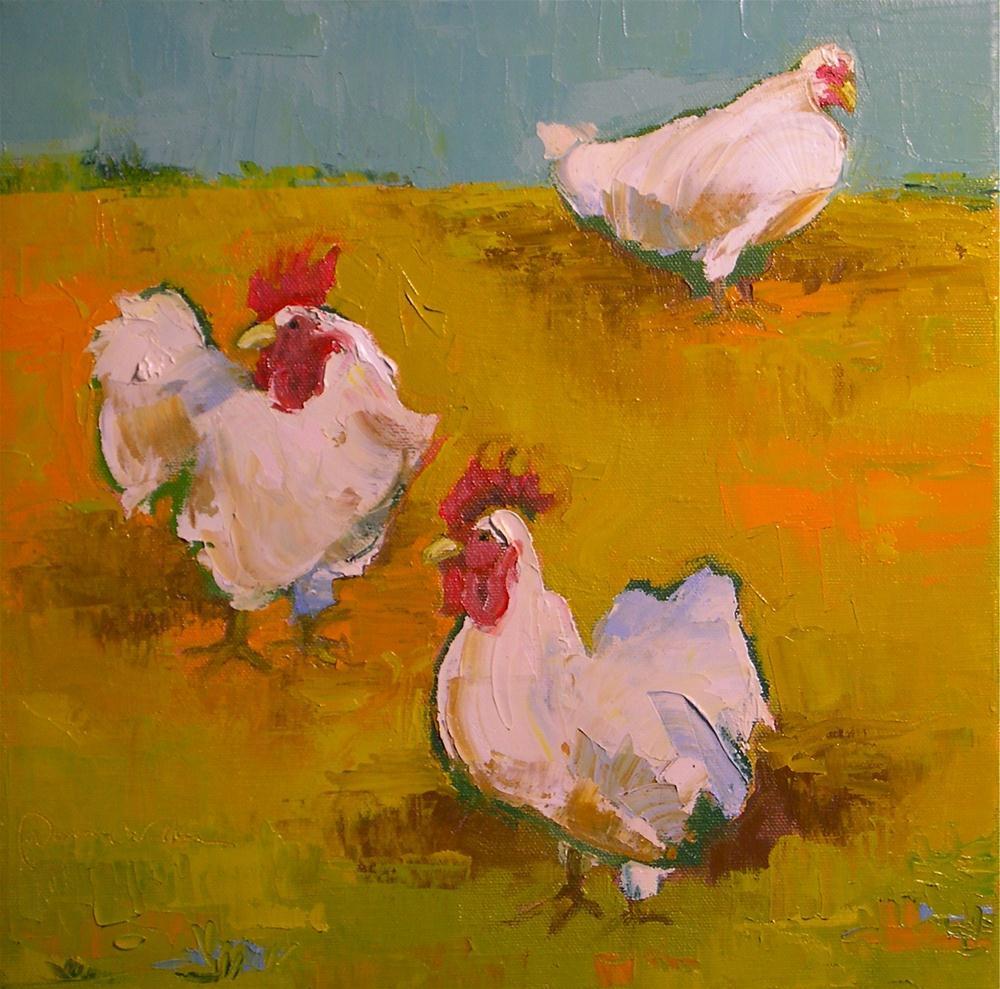 """Walk On By"" original fine art by Donna Walker"