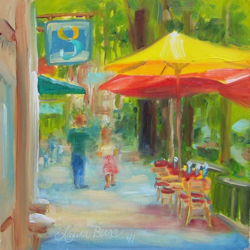"""""""Greenville"""" original fine art by Laura  Buxo"""