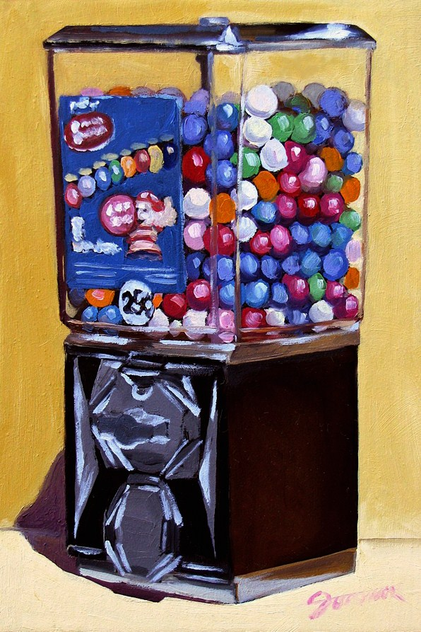 """Rainbow of Flavors-2"" original fine art by Joanna Bingham"
