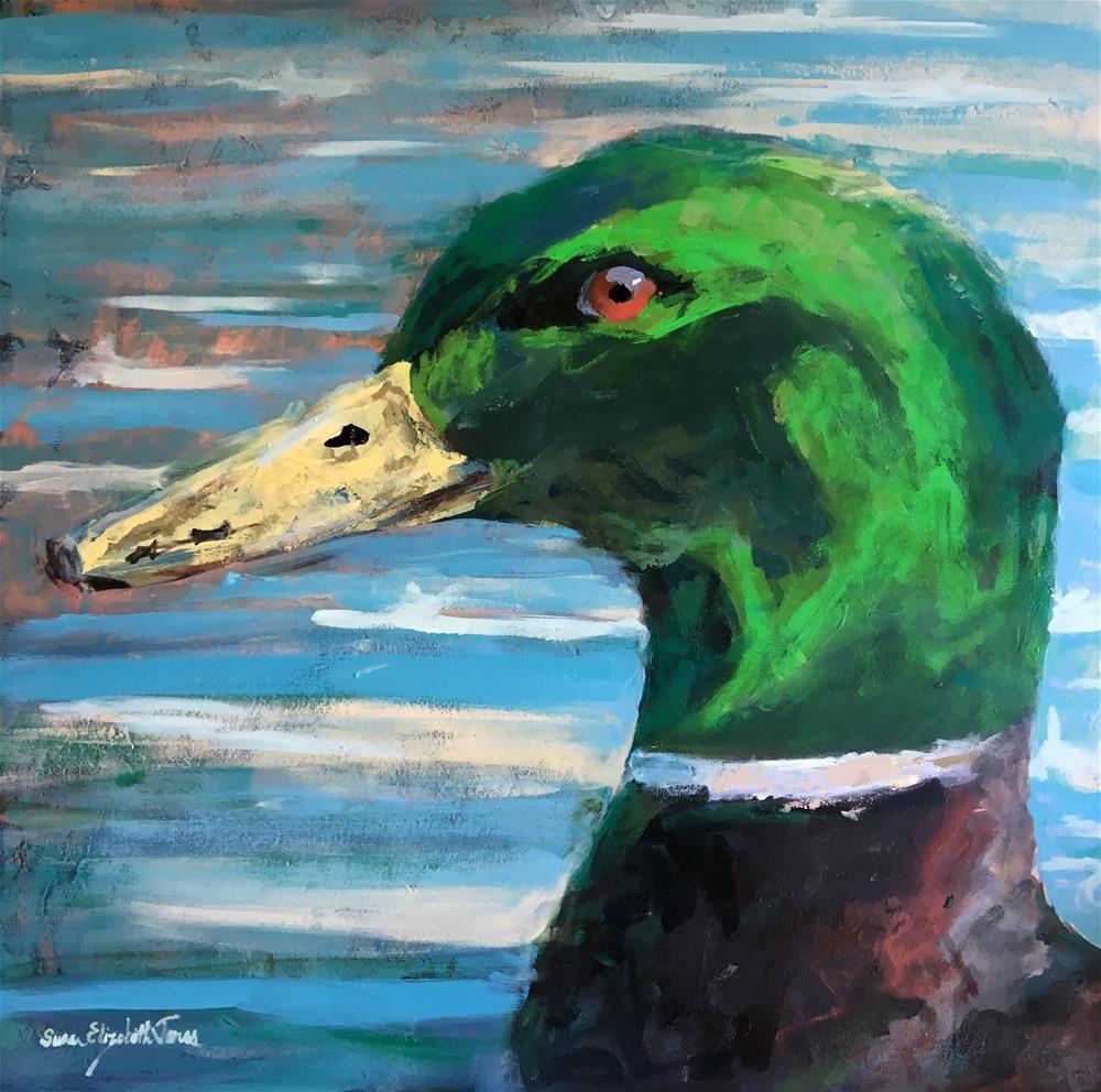 """Crack of Dawn"" original fine art by Susan Elizabeth Jones"