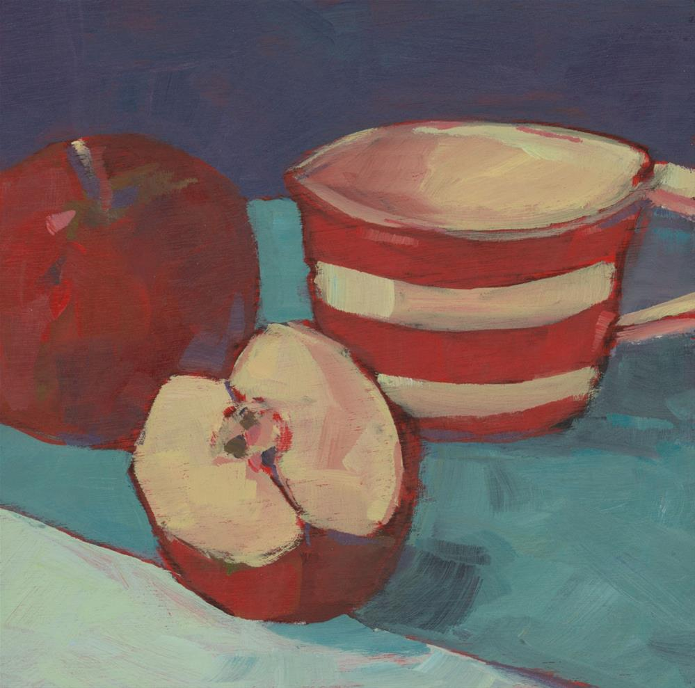 """0927: Apple for the Road"" original fine art by Brian Miller"