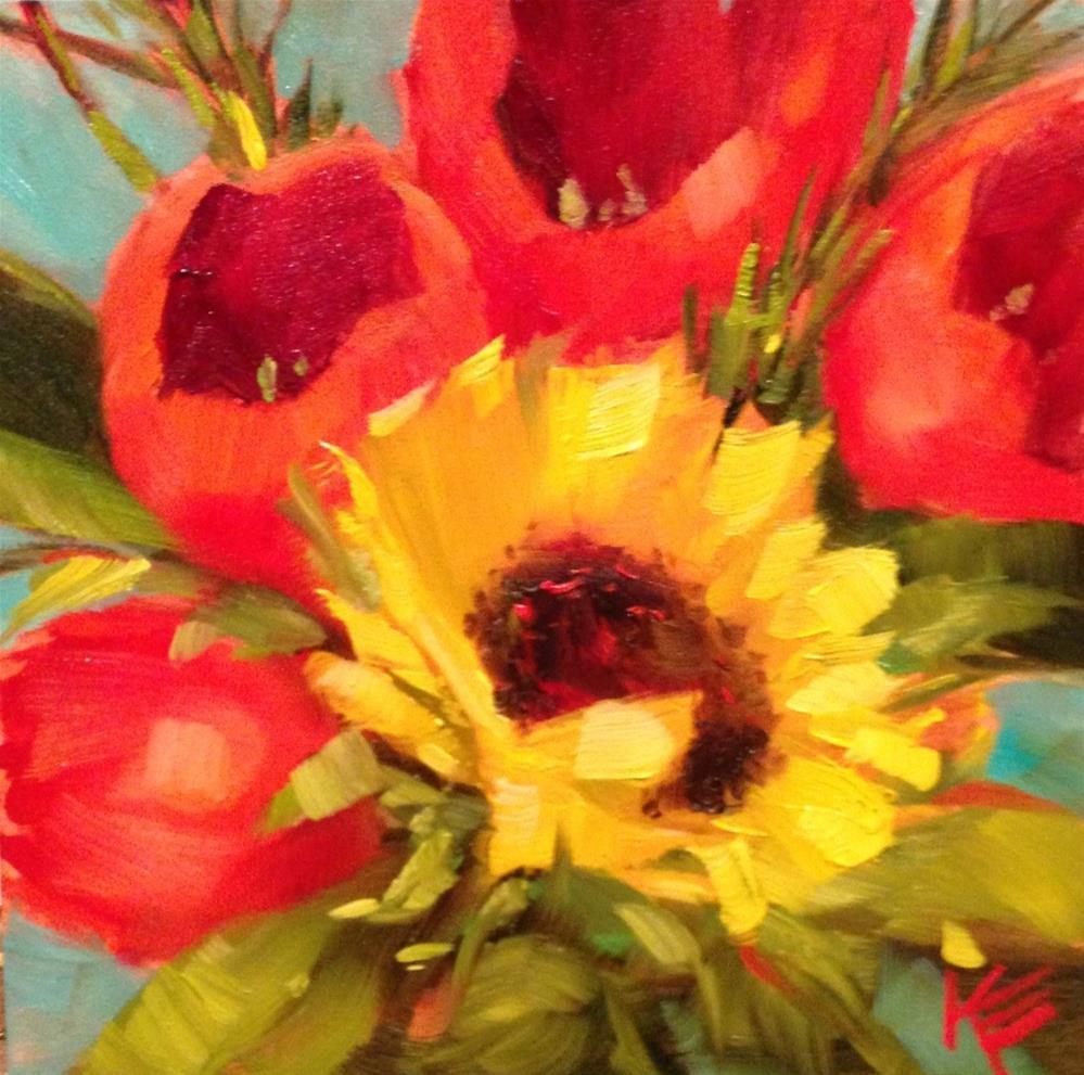 """Enticed by Joy"" original fine art by Krista Eaton"