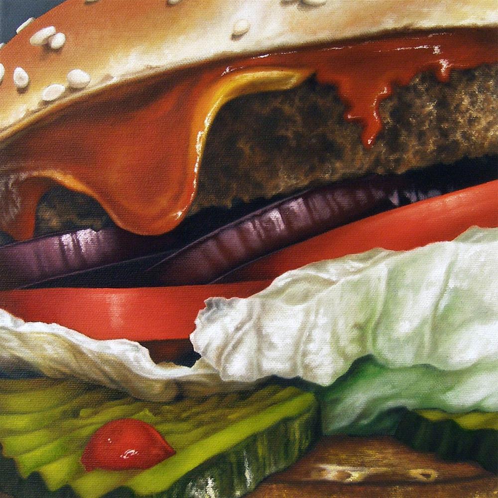 """Open Wide I"" original fine art by Jelaine Faunce"