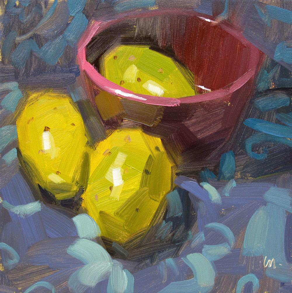 """Cactus Time Out"" original fine art by Carol Marine"