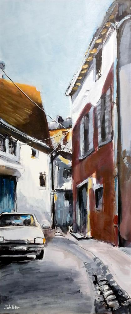 """2982 Another corner"" original fine art by Dietmar Stiller"