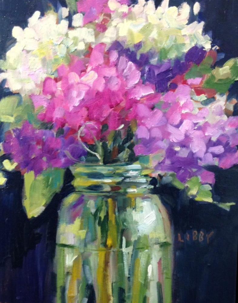 """""""Celestial"""" original fine art by Libby Anderson"""
