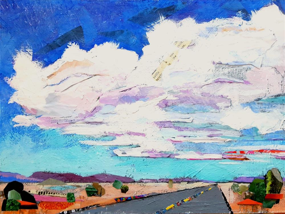 """Road Trip"" original fine art by Cindy Carrillo"