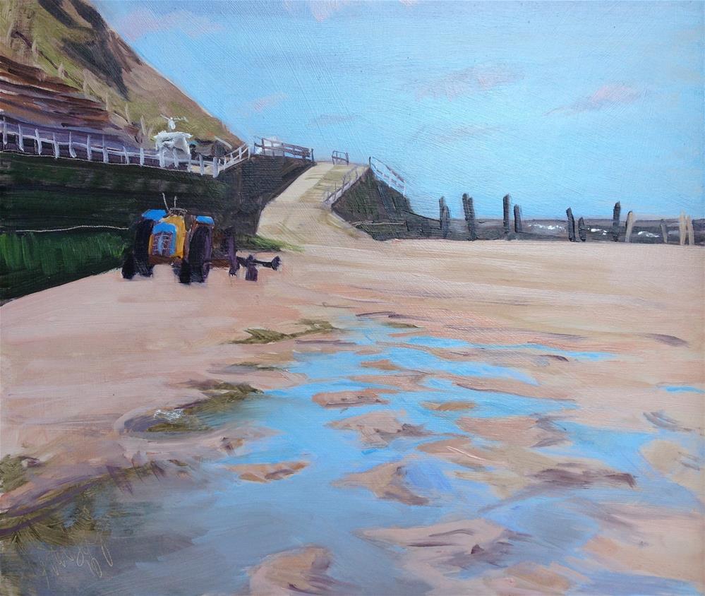 """Overstrand Promenade #1"" original fine art by Tanya Pawsey"