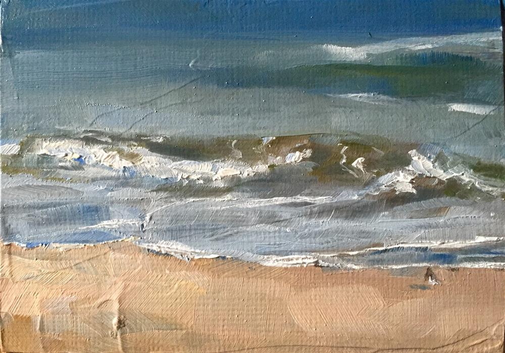 """The Shore"" original fine art by Gary Bruton"