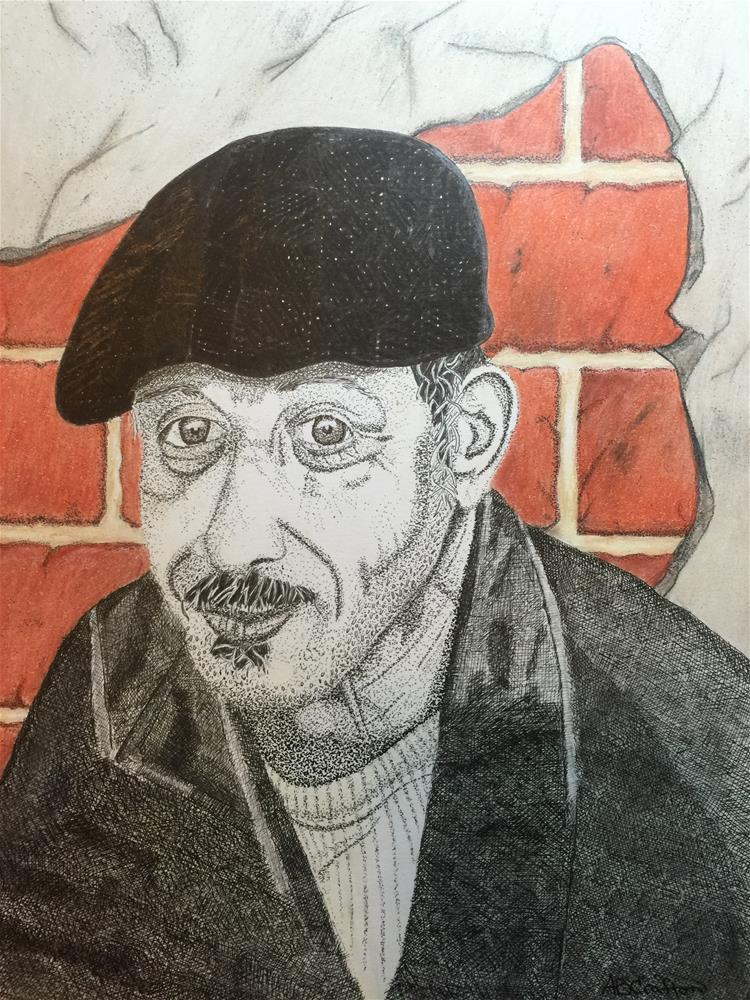 """Tony"" original fine art by Arlene Crafton"