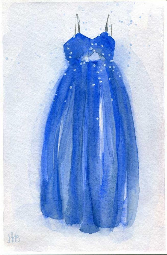 """""""Princess"""" original fine art by Heather Bennett"""