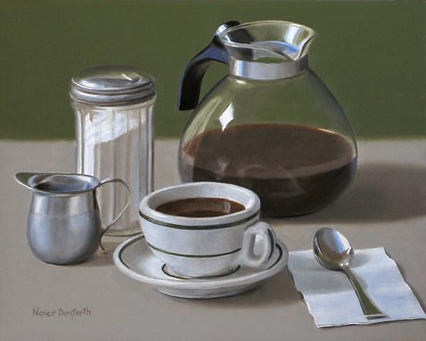 """Refill?"" original fine art by Nance Danforth"