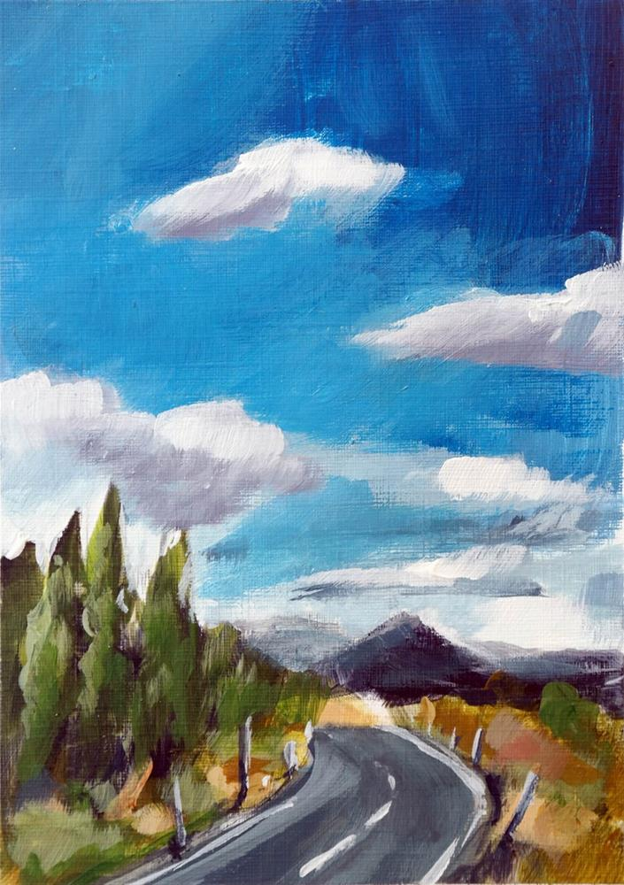 """2057 Cloud Formation Gamma"" original fine art by Dietmar Stiller"