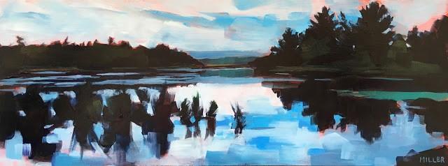"""Marsh No. 9"" original fine art by Jessica Miller"