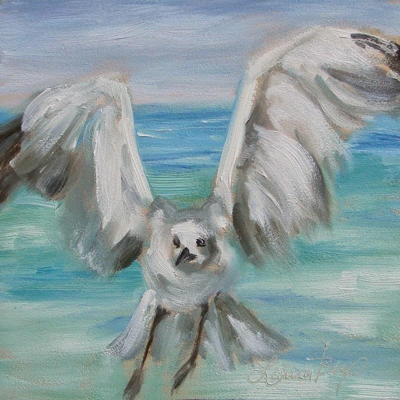 """I'm Back...... 272"" original fine art by Laura  Buxo"