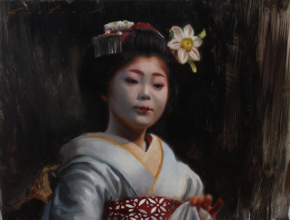"""""""Hanatouro"""" original fine art by Phil Couture"""