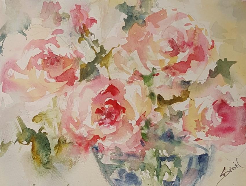 """""""Simple Pleasures"""" original fine art by Sue Dion"""