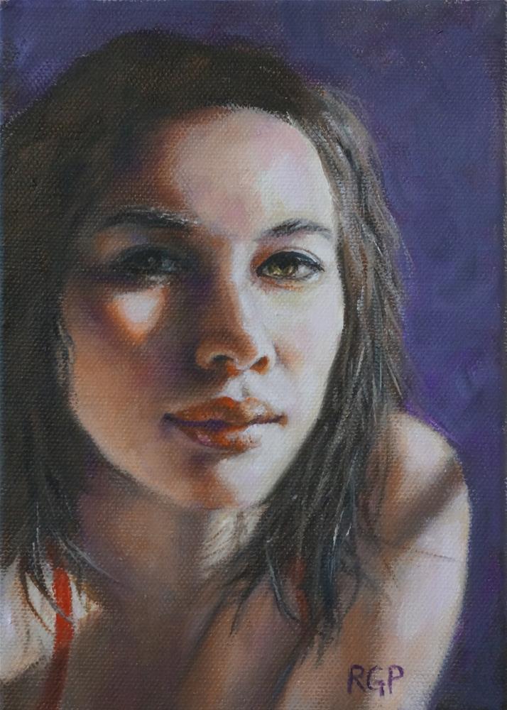 """Shadows"" original fine art by Rhea  Groepper Pettit"