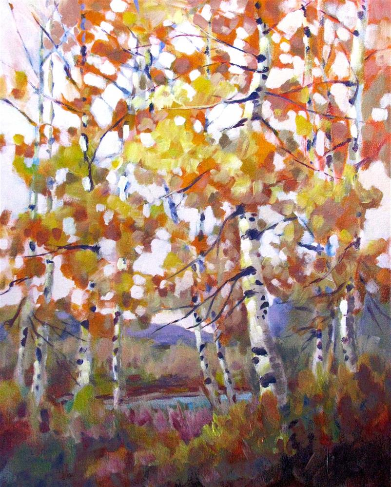 """Autumn Color Bounce"" original fine art by Melissa Gannon"