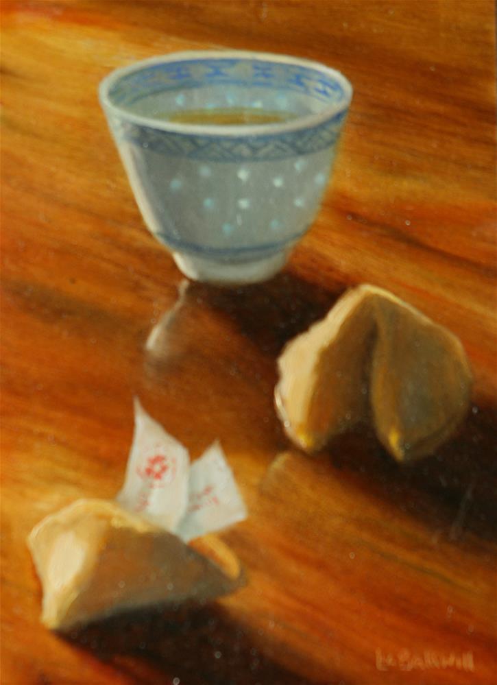 """""""Fortune Cookies"""" original fine art by Liz Balkwill"""