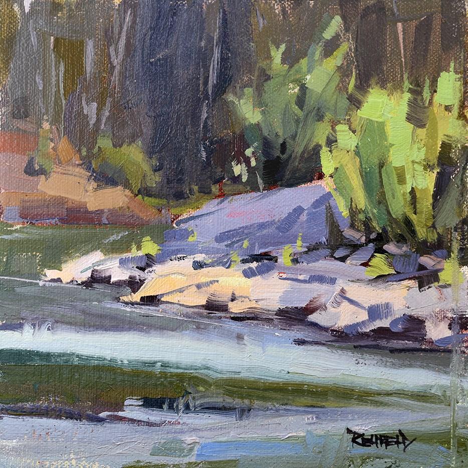 """Hood River"" original fine art by Cathleen Rehfeld"