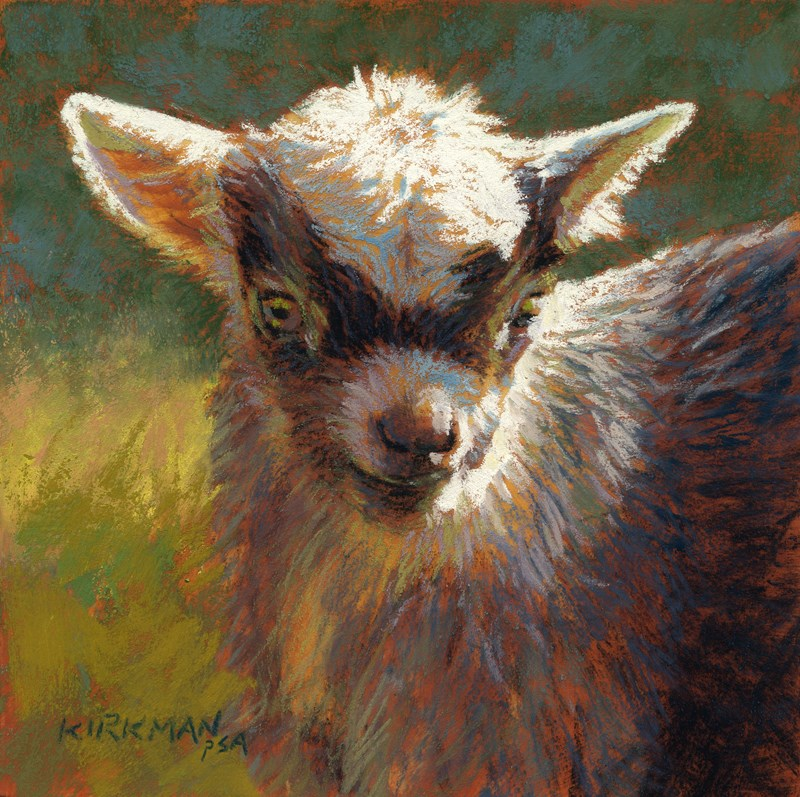 """Gable"" original fine art by Rita Kirkman"