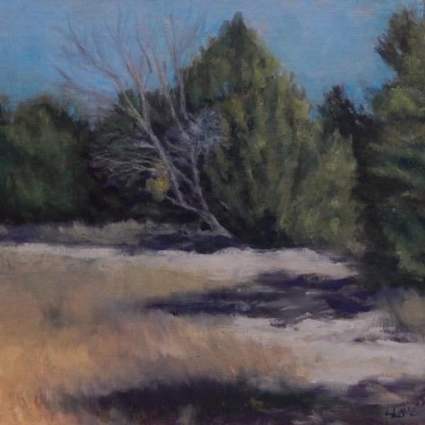 """""""Morning Trail"""" original fine art by Lori L. Lamb"""